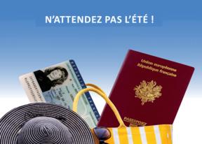 Bientôt les vacances…attention aux dates de validité de vos pièces d'identité