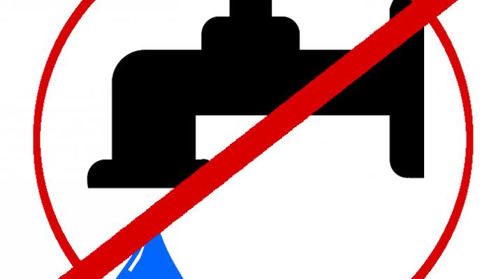 Coupure d'eau