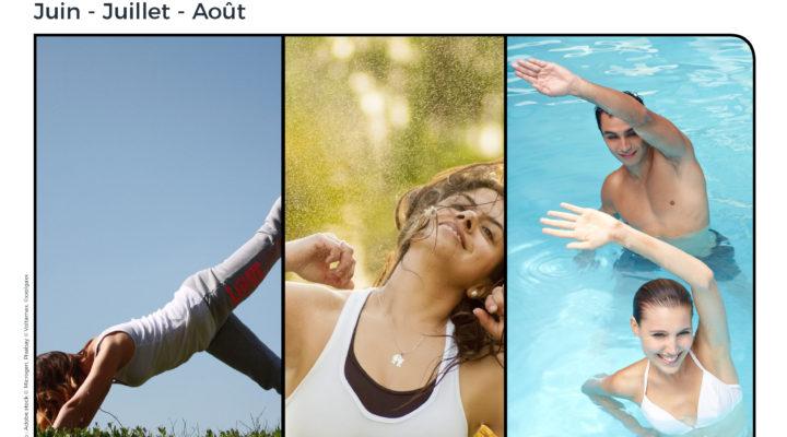 Activités à la piscine