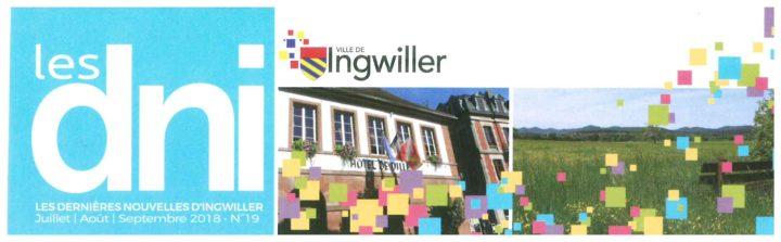 Les Dernières Nouvelles d'Ingwiller N° 19